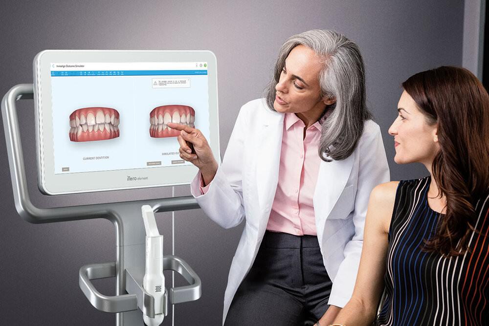 Fachzahnärztin für Kieferorthopädie - Freising Smile - Leistungen - Digitale Praxis - Intraoralscanner